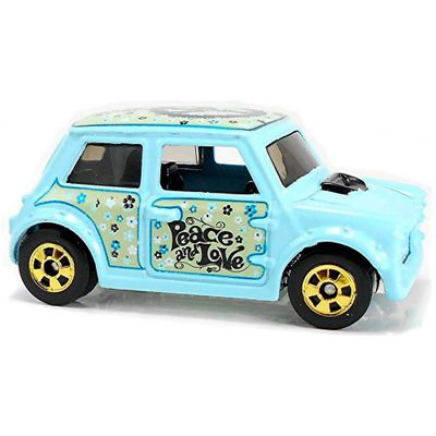 Mini-Veiculo-Die-Cast---Hot-Wheels---1-64---Retro-Morris-Mini---Mattel