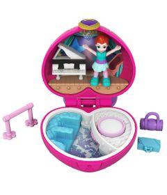 Playset-e-Boneca---Polly-Pocket---Estojo-Pequenos-Lugares---Coracao-de-Ballet---Mattel