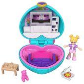 Playset-e-Boneca---Polly-Pocket---Estojo-Pequenos-Lugares---Coracao-Sala-de-TV---Mattel