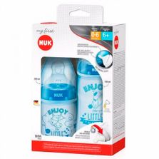 Mamadeiras-My-First---150-ml-e-300-ml---Azul-Cachorrinhos---NUK