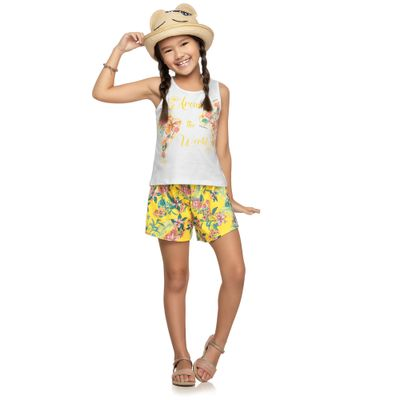 Conjuntinho-Infantil---Regata-Estampada-e-Shorts---Arould-The-World---Mescla-Verde---Kamylus---6