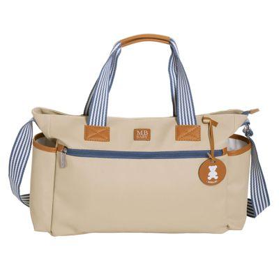 Bolsa-de-Maternidade---35x29x13Cm---Classic-Listras---Marfim---MasterBag