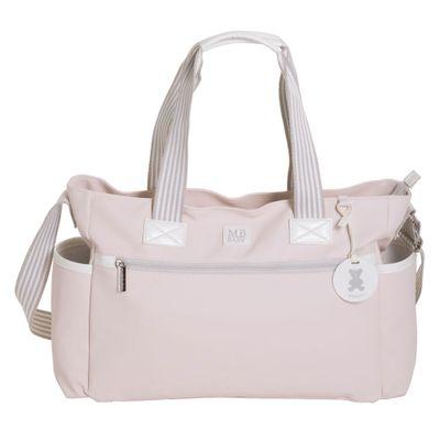 Bolsa-de-Maternidade---35x29x13Cm---Classic-Listras---Rosa---MasterBag