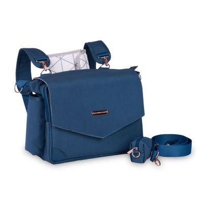 Bolsa-de-Maternidade---45x30x15Cm---Mommy---Colecao-Rose-Gold---Azul-Petroleo---MasterBag