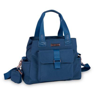 Bolsa-Sacola-de-Maternidade---35x29x13Cm---Kate---Colecao-Rose-Gold---Azul-Petroleo---MasterBag