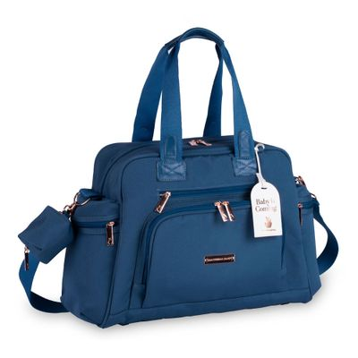 Bolsa-Termica---32x50x20Cm---Everyday---Colecao-Rose-Gold---Azul-Petroleo---MasterBag