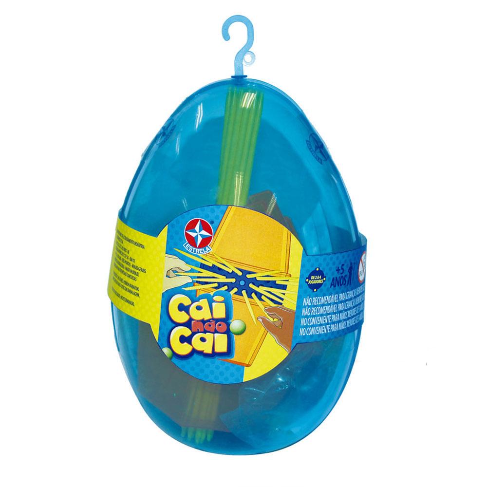 Mini Jogo - Cai não Cai - Embalagem de Páscoa - Estrela