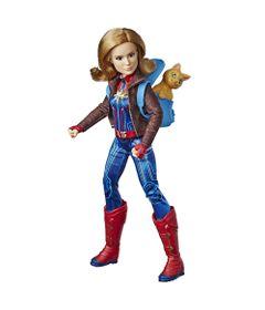 Boneca-Articulada---30Cm---Disney---Marvel---Capita-Marvel---Deluxe---Hasbro