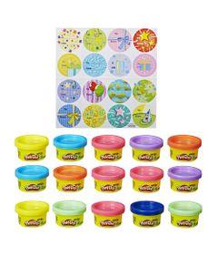 Conjunto-de-Massas-de-Modelar---Play-Doh---15-Unidades---Hasbro