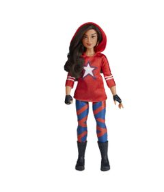 Figura-Articulada---30Cm---Disney---Marvel---Rising-Secret-Warriors---America-Chavez---Hasbro