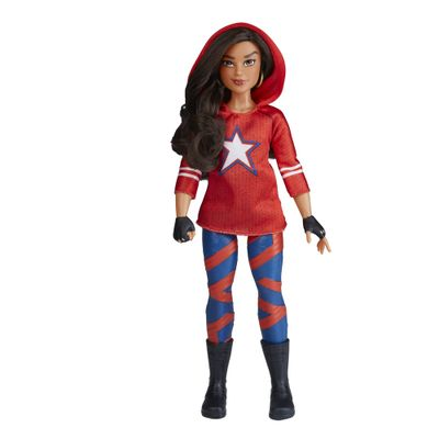Figura-Articulada---30Cm---Disney---Marvel---Rising-Secret-Warriors---America-Chavez---Hasbro
