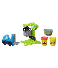 Massa-de-Modelar---Play-Doh---Wheels---Guindaste-e-Empilhadeira---Hasbro