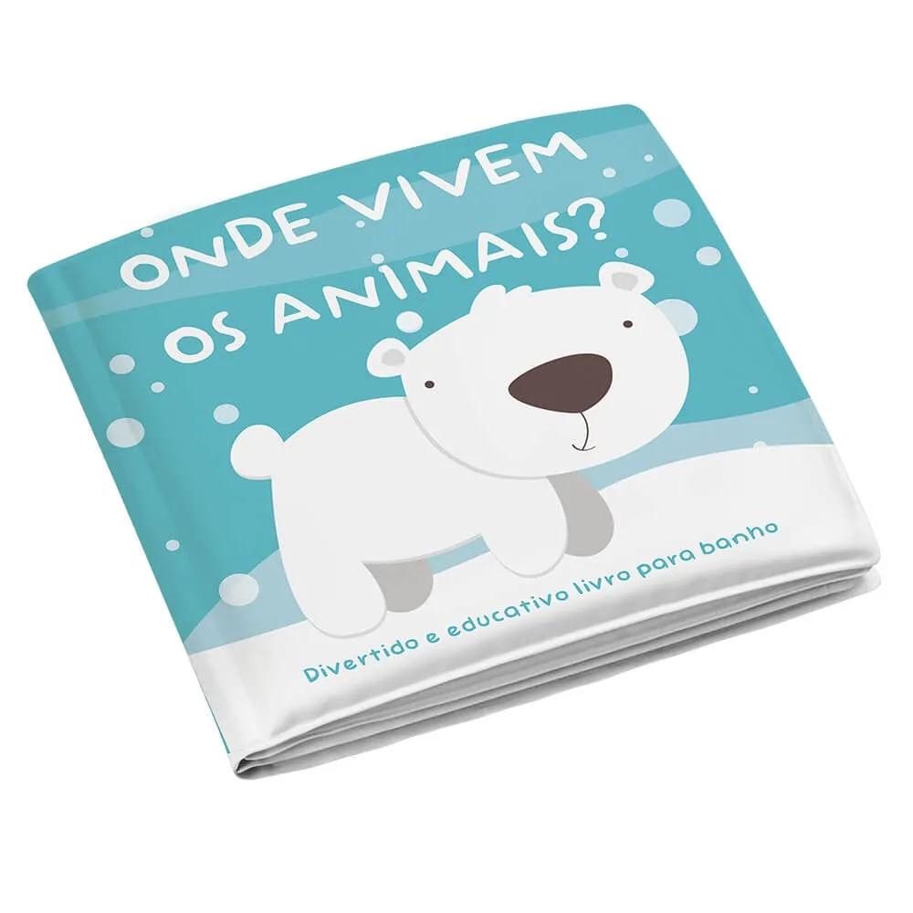 Livrinho de Banho - Animais - Multikids