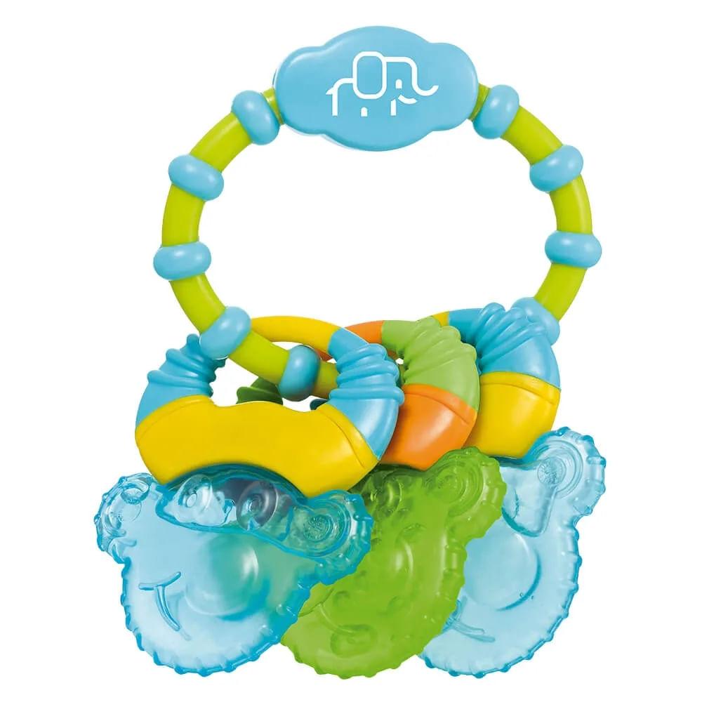 Mordedor com Gel - Azul - Cool Rings - Multikids