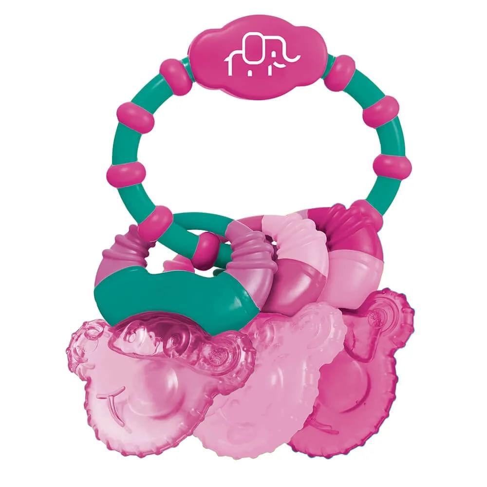 Mordedor com Gel - Rosa - Cool Rings - Multikids