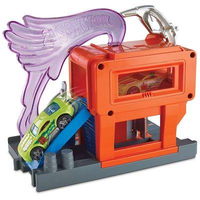 Pista-Hot-Wheels---City-Downtown---Super-Fuel-Stop---Mattel_Frente