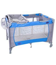 Berco-Portatil-com-Trocador---Amici---Azul---Prime-Baby