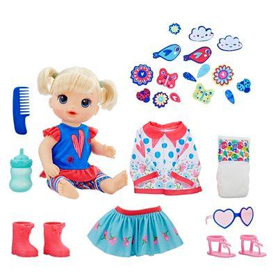 Boneca-Baby-Alive---Vestida-para-Passear---Loira---E2101---Hasbro