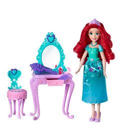 Boneca-Princesa-Disney---30-Cm---Ariel---Com-Acessorios-para-Cenario---Hasbro