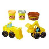 Conjunto-Massa-de-Modelar---Play-Doh---Escavadeira-e-Carregadeira---Hasbro