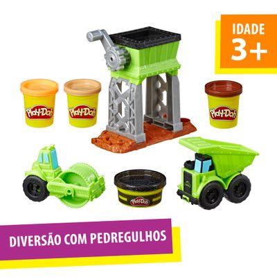 Conjunto-Massa-de-Modelar---Play-Doh---Terreno-de-Cascalho---Hasbro