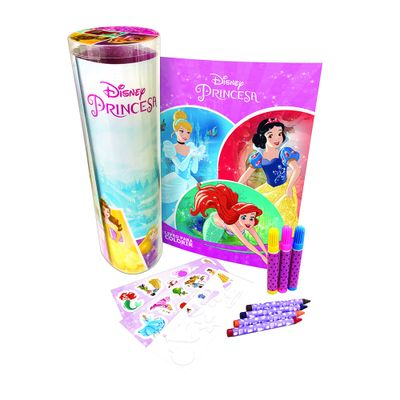 Tubo-Historias-para-Colorir---Disney---Princesas---DCL-Editora
