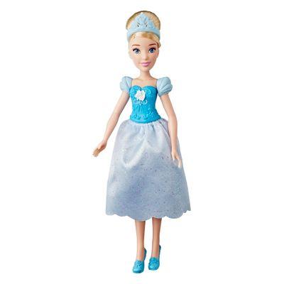 Boneca-Basica---Princesas-Disney---Cinderela-com-Coroa_Frente