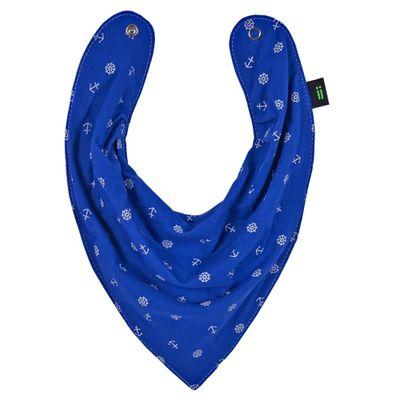 Babador-Bandana---Azul-Ancoras---Gumii