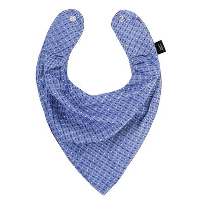 Babador-Bandana---Azul-com-Textura---Gumii