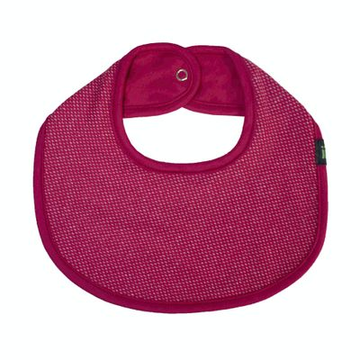 Babador-Oval---Vermelho-Pontilhado---Gumii