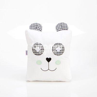 Almofada-Panda---37-x-33-Cm---Preto---Biramar