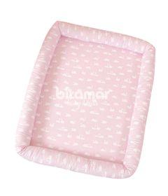 Colchonete-Infantil---90-x-70-Cm---Cisne-Rosa---Biramar