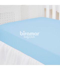 Lencol-para-Berco---1-Peca---Malha-Liso-Azul---Biramar