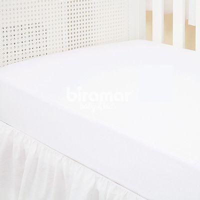 Lencol-para-Berco---1-Peca---Malha-Liso-Branco---Biramar