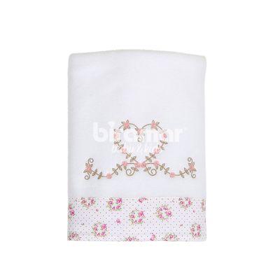 Manta-Soft---Barrado-e-Bordado---Tiffany-Floral-Poa-Rosa---Biramar