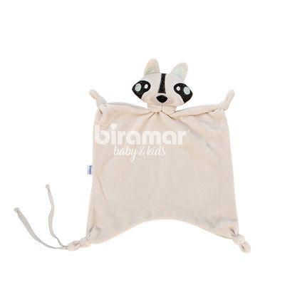 Naninha-para-Bebe---Plush-Bordada-Sweet---Guaxinim-Cinza---Biramar