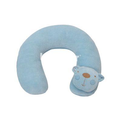 Protetor-de-Pescoco-Amiguinhos---Urso-Azul---Biramar