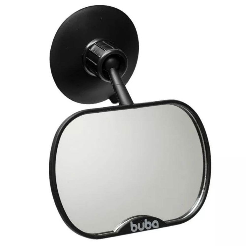 Espelho Retrovisor para Carro - Preto - Buba