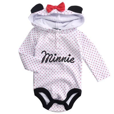 Body-Manga-Longa-e-Capuz---Minnie-Mouse---Branco---100--Algodao---Disney---P