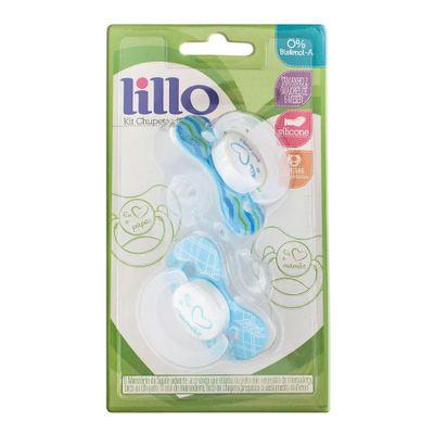 Chupeta-de-Silicone---Papai---2-Unidades---Azul---Lillo