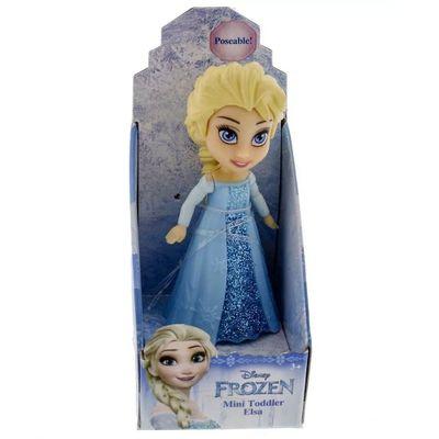 Mini-Boneca---10Cm---Disney---Frozen---Elsa-Vestido-Com-Brilho_Frente