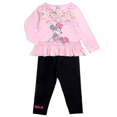 Conjunto-Infantil---Minnie-Mouse---Rosa-e-Preto---100--Algodao---Disney---2