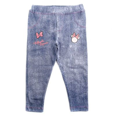 Calca-Legging-Infantil---Minnie-Mouse---Branco---Algodao-e-Elastano---Disney---2