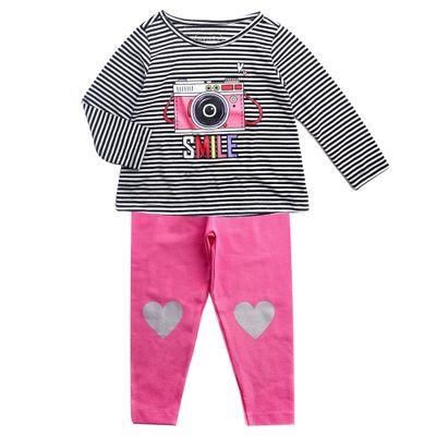 Conjunto-Infantil---Estampado---Camera---Preto-e-Rosa---Algodao-e-Poliester---Minimi---4
