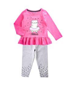 Conjunto-Infantil---Estampado---Gatinho---Mescla-e-Rosa---Algodao-e-Elastano---Minimi---2