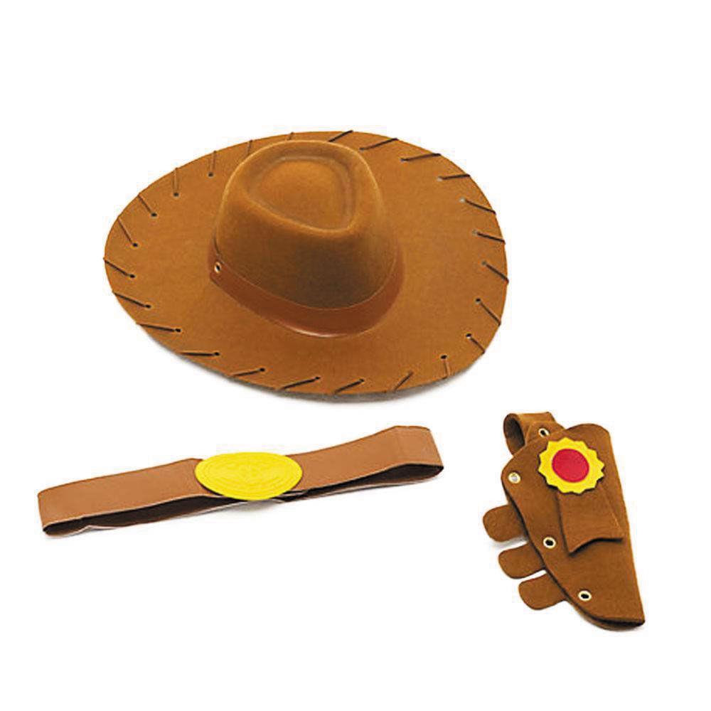 Conjunto de Acessórios - Toy Story - Woody - Cinto, Chapéu e Coldre - Toyng