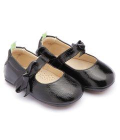 b315872cc Sapato para Bebês - Dorothy - Couro - Preto - Tip Toey Joey