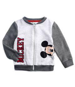 Jaqueta-de-Moleton---Mickey-Mouse---Algodao-e-Poliester---Cinza---Disney---2