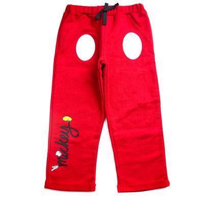 Calca-Infantil---100--Algodao---Mickey-Mouse---Vermelho---Disney---1