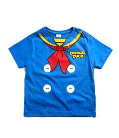 Camiseta-Infantil---Manga-Curta---100--Algodao---Donald---Azul---Disney---1
